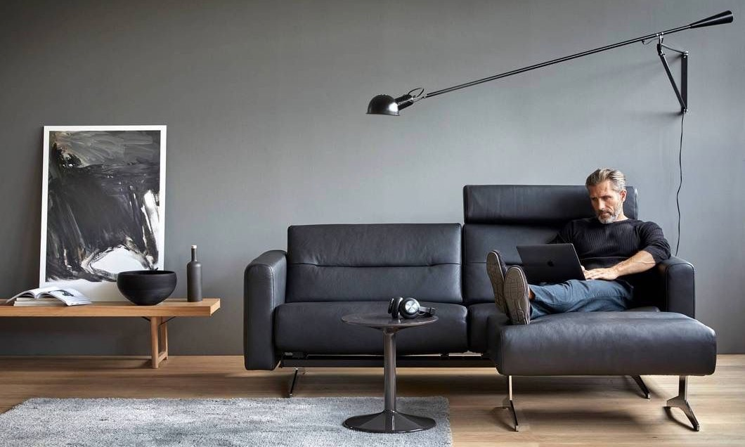 Leather Recliner Sofa Scandinavian Sofa Stressless C
